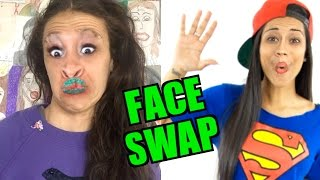 FACE SWAPPING WITH YOUTUBERS!!!
