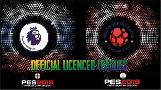 All PES 2019 Mobile Licenced Leagues