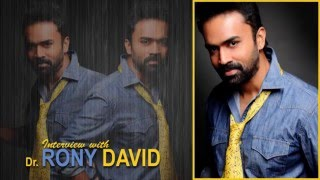 Dr. Rony David, Actor – Interview