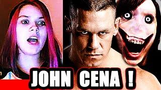 John Cena AND Jeff the Killer - Scary Prank on Omegle