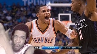 HE CAN'T BE STOPPED! RUSSEL WESTBROOK UNREAL 51 PT TRIPLE DOUBLE vs PHOENIX SUNS REACTION