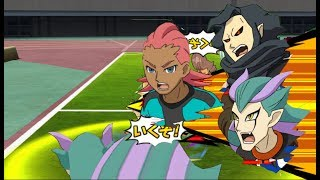 Inazuma Eleven GO Strikers 2013 Team GK vs Time Zero Wii (Epic Goal)