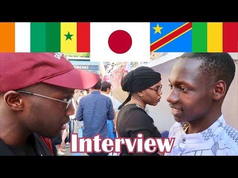 La vraie vie des Noirs au Japon (interview)