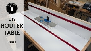 Router Table and Fence   DIY Router Table Build - Part 1