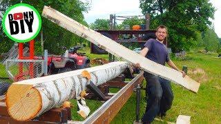Homemade Sawmill #21 - CUTTING BOARDS!