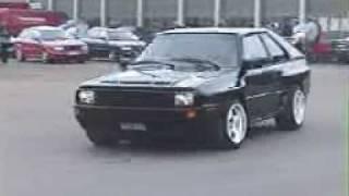 Audi Sport Quattro Dahlbäck Racing 20V Turbo 5 Zylinder