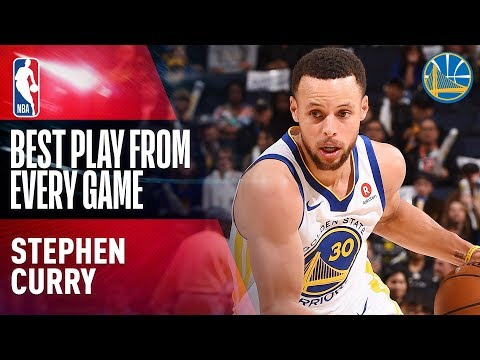 Stephen Curry s Best Play From Every Game of the 2017 18 Season