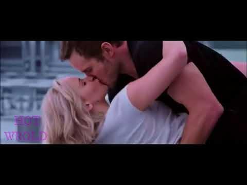 JENNIFER LAWRENCE all in one kiss scene of passenger movie HD 2016