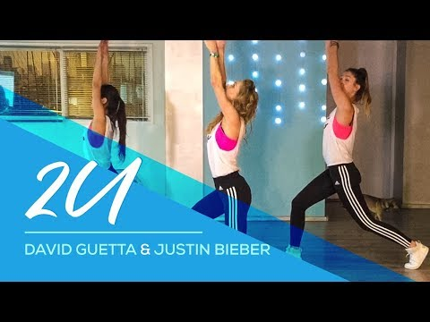2U - David Guetta - Justin Bieber -Afrojack Remix -  Combat Fitness Dance Baile