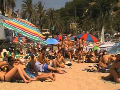 piękna plaża w Hiszpanii