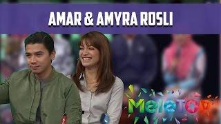 Amyra dan Amar Belajar Lebih Tentang Sama Sendiri Selepas Kahwin - MeleTOP Episod 215 [13.12.2016]