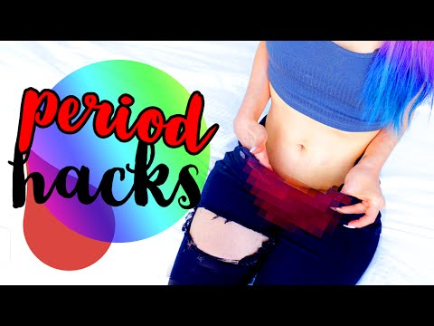 10 Period Hacks All Girls NEED To Know