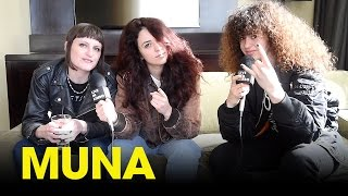 """MUNA discuss their debut album """"About U"""" and getting mono at SXSW - Toronto, Interview"""