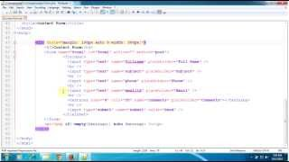 PHP Tutorials: Create a Contact Form using HTML and PHP with a Gmail Address