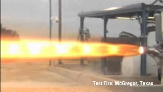 SpaceX Testing - SuperDraco Engine Firing