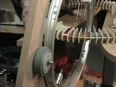 5 EPG Coil Winder How It Works And Wrapping The Fist EPG Test Coil. Home Maid Troid Winder