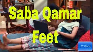 Saba Qumar Feet