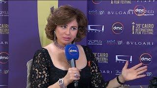 """مهرجان القاهرة السينمائي - لقاء مع النجمة الكبيرة """" إلهام شاهين """" ورأيها عن حضور المهرجان"""