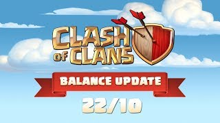Clash of Clans: Balance Update October 2018