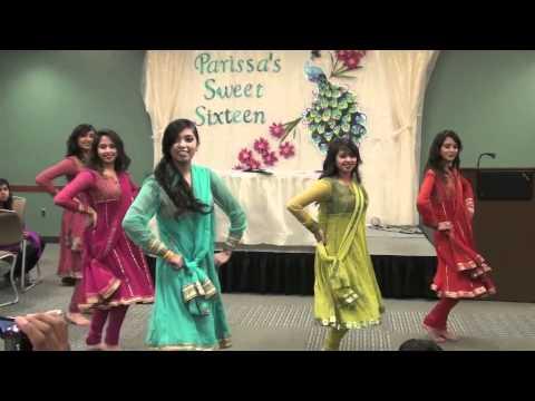 Chamak Challo and Marjaani Dance Medley at Parissa s Sweet Sixteen