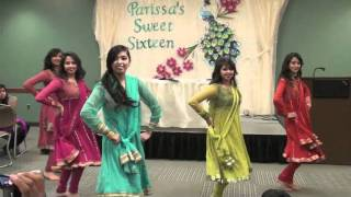 Chamak Challo and Marjaani Dance Medley at Parissa's Sweet Sixteen