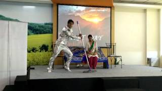 Robotic dancing act by Atul Tripathi