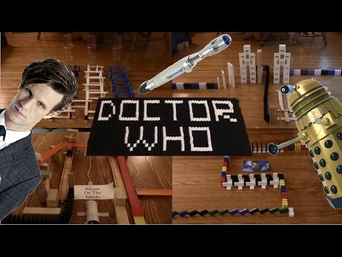 Doctor Who in Dominoes
