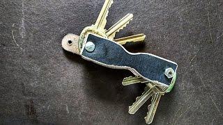 DIY: Leather Key Organizer