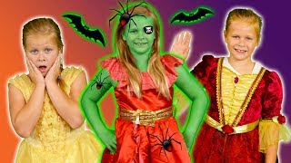 ASSISTANT Spooky Halloween Games with Elena of Avalor and PJ Masks Video