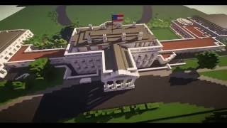 Minecraft White House with download