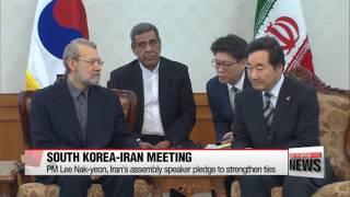 Korea and Iran pledge to strengthen ties