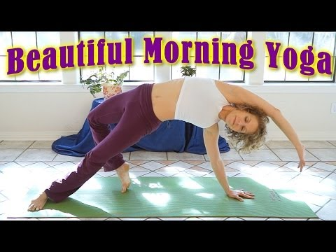 Beautiful Morning Yoga Stretch For Beginners! 20 Minute Energy & Flexibility Workout Routine