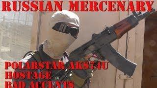 Russian Mercenary with Polarstar AKS74U Overview/Gameplay