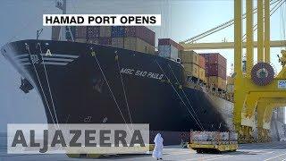 Qatar emir officially inaugurates Hamad Port