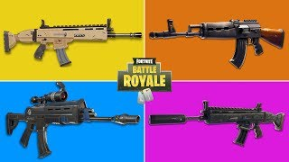 What Is The Best Assault Rifle in Fortnite? (Updated)
