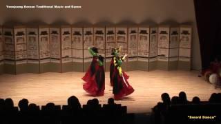 "Yeonjeong Korean traditional music/dance - 2011/04/26-""Sword Dance"""