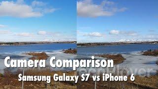 Camera comparison - Samsung Galaxy S7 vs iPhone 6