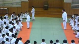 Kodokan 2010 - Asahi sensei on Kumi kata