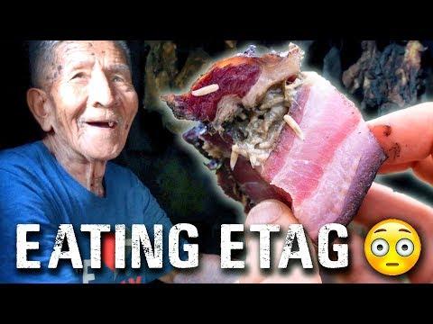 Philippines STRANGEST food! ETAG in Sagada   Travel Philippines Vlog