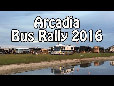 Walk Thru of the Arcadia Bus Rally 2016/2017 - Vintage Bus Porn! :)