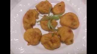 Beignet de potiron/mofo anana voatavo/pumpkin fritters/feon-kira gasy/lokon-danitra