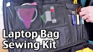 Laptop Bag Sewing Kit - How I Made A Cheap Sewing Kit