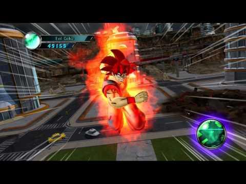 Dragon Ball Z Ultimate Tenkaichi Evil Goku vs Great Ape Baby