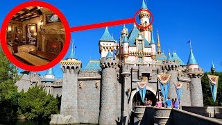 Top 10 INSANE Disneyland Secrets THEY DON