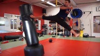 Scott Adkins Undisputed 4 Training Betim Alimi Kicking session 2015