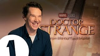 Benedict Cumberbatch went in a comic book store dressed as Doctor Strange