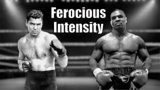 Tyson & His Hero Jack Dempsey  - Comparison Highlights