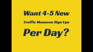 Traffic Monsoon Review: Wants 4-5 New Team Members Daily?