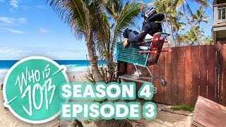 Big Wave Rafting and Shopping Cart Madness | Who is JOB 5.0: S4E3