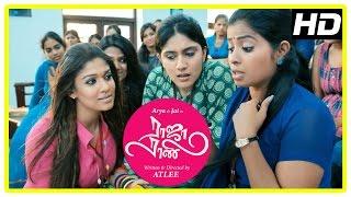 Raja Rani Tamil Movie Scenes | Nayanthara and friends tease Jai | Sathyan | Manobala